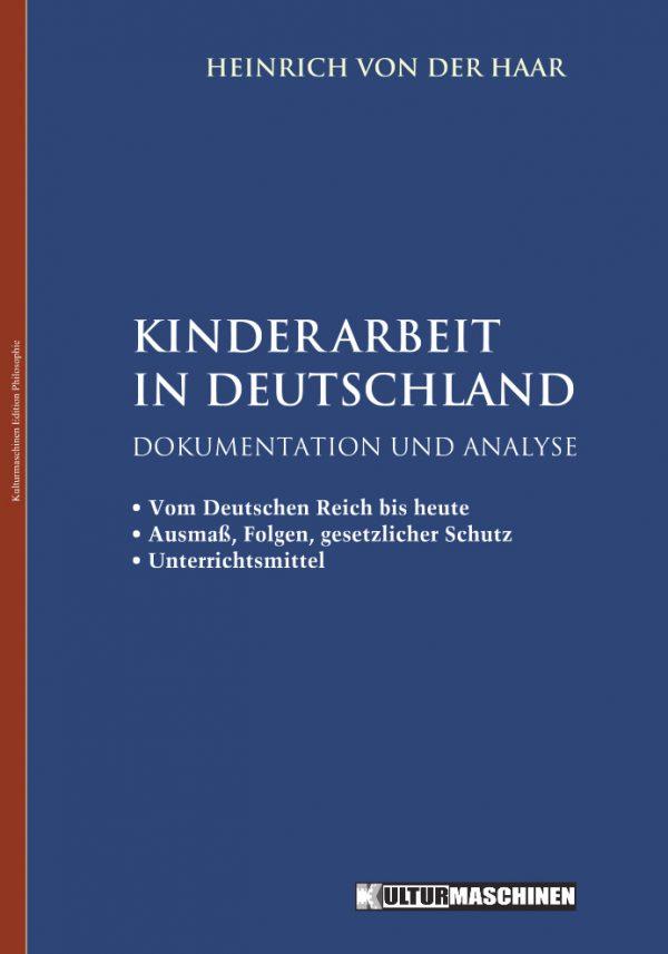 H.v.d. Haar: Kinderarbeit in Deutschland