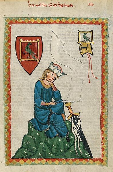 394px-Codex_Manesse_Walther_von_der_Vogelweide.jpg