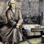 Marquis de Sade im Gefängnis