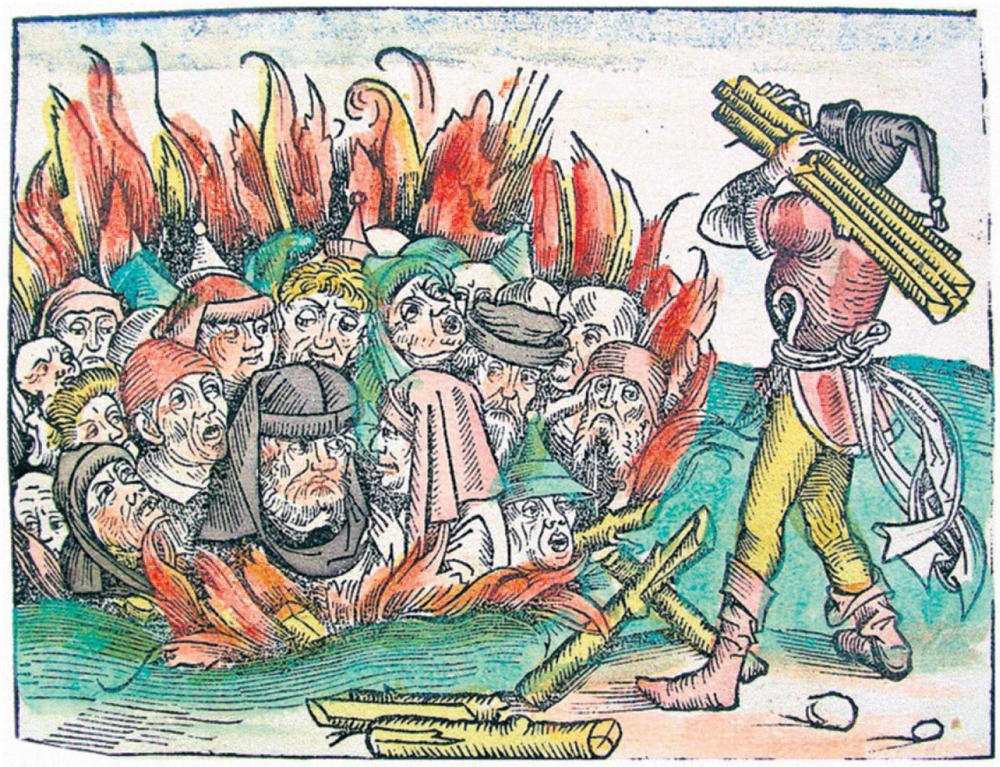 Judenverbrennung in wien