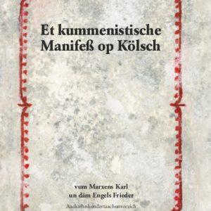 Karl Marx u. Friedrich Engels: Et Manifeß