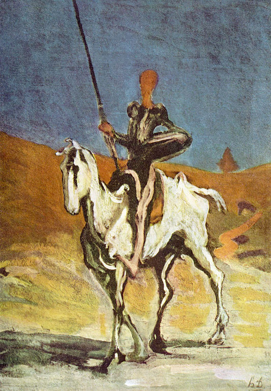 Honoré_Daumier_017_Don_Quixote