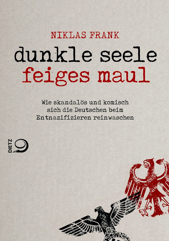 Dunkle Seele, feiges Maul!