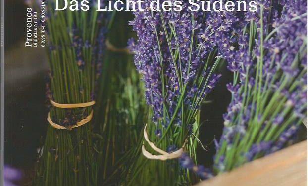 Leuchtende Lavendelfelder