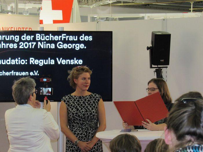 Nina George fordert verstärkte Anstrengungen zum Urheberrecht